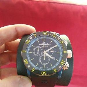 """Edox CO-1""""Miss Geico Racing""""swiss chrono watch"""